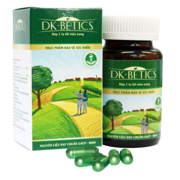 Viên tiểu đường DK-BETICS 120 Viên
